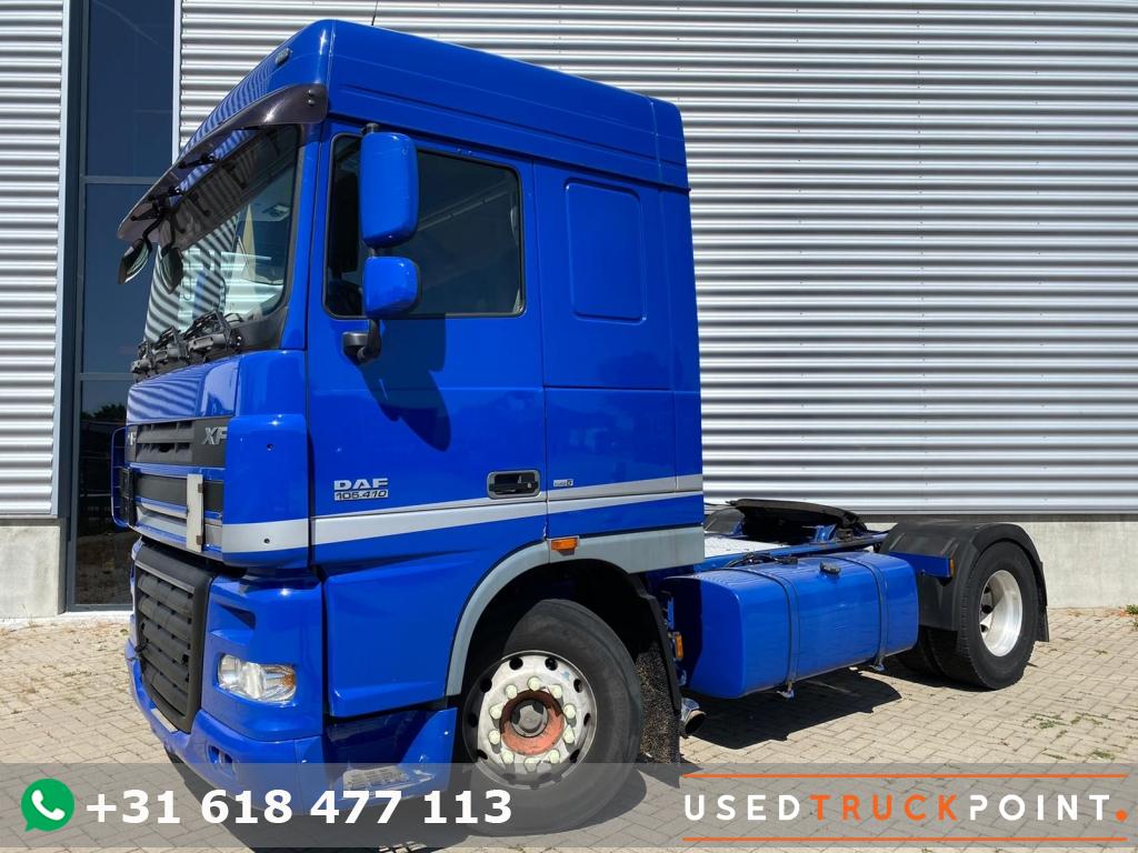 DAF XF 105.410 SC / Euro 5 / 2 Beds / Belgium Truck