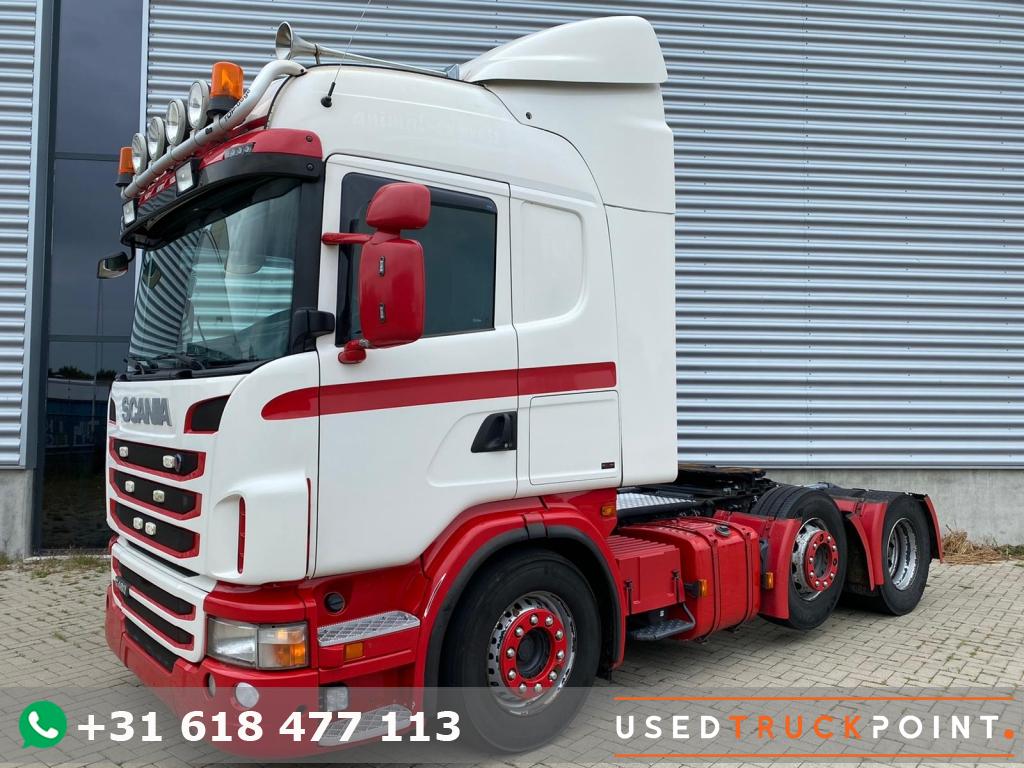 Scania G 480 Highline / 6X2 / Retarder / Manual / Belgium Truck