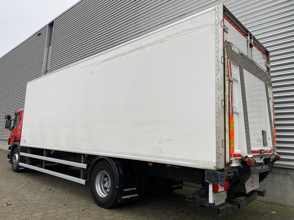 Scania P280 / Opti Cruise / Euro 5 / Back Doors / Tail lift / Carrier Supra 1000 City / Belgium Truck