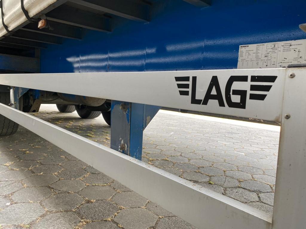 Lag 3-Assige schuifzeil / SAF Axle / Belgium Trailer