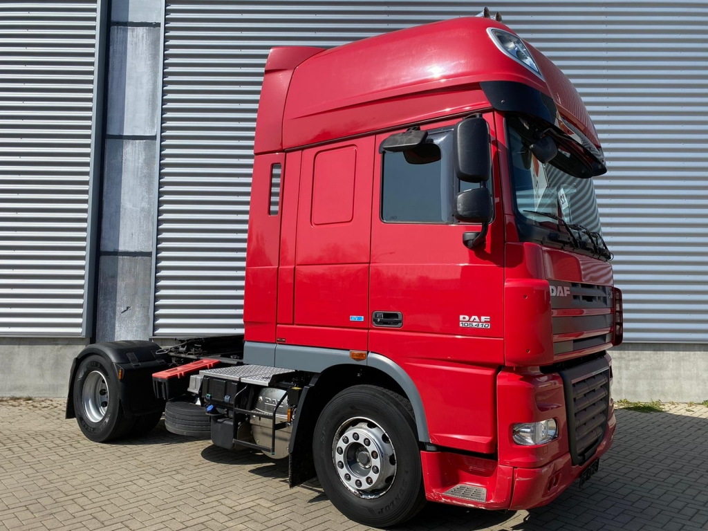 DAF XF 105.410 SSC / ATE / Manual / Frigobox / TUV: 2-2021