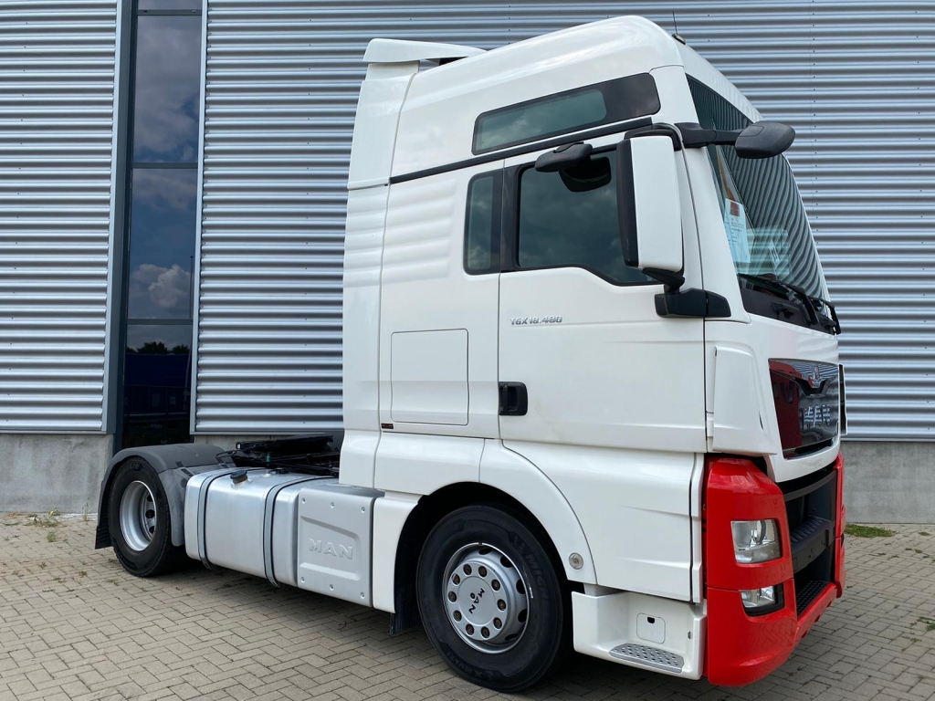 MAN TGX 18.480 XXL BLS / Intarder / New Tires / Euro 6