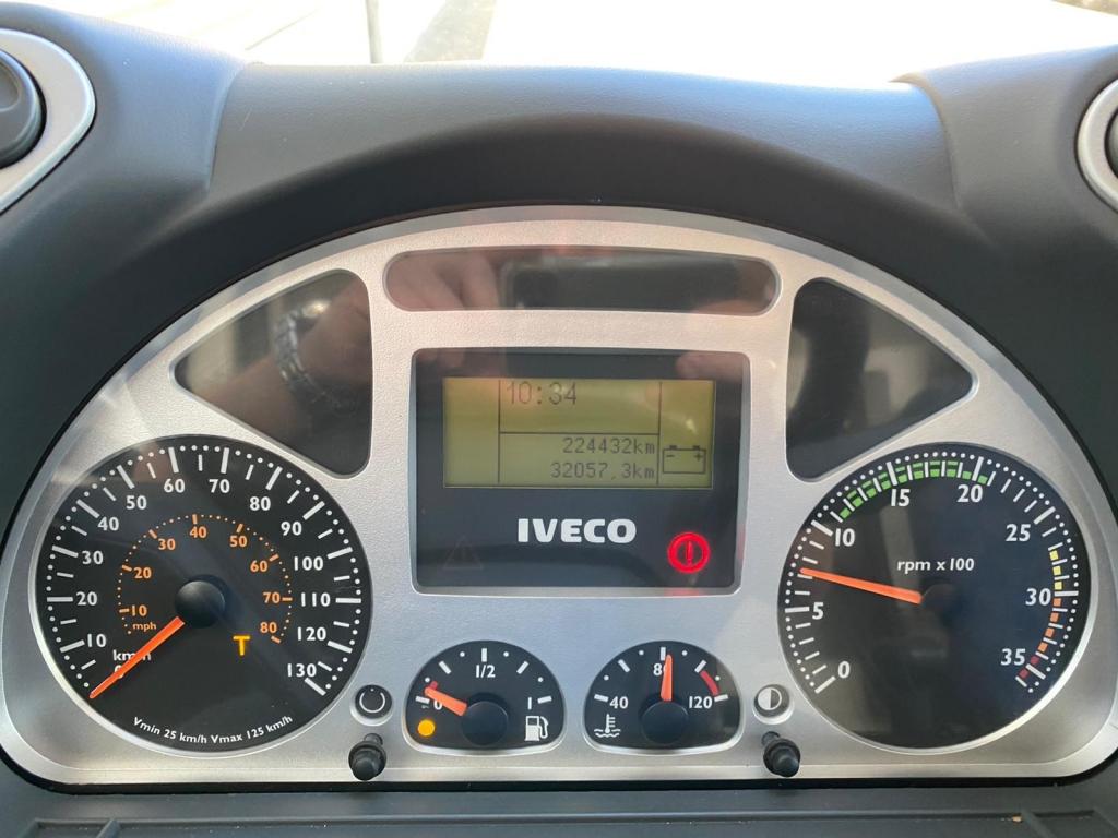 Iveco Eurocargo 80E17 / Manual / Full Steel / 224 DKM / Euro 3 / NL Truck