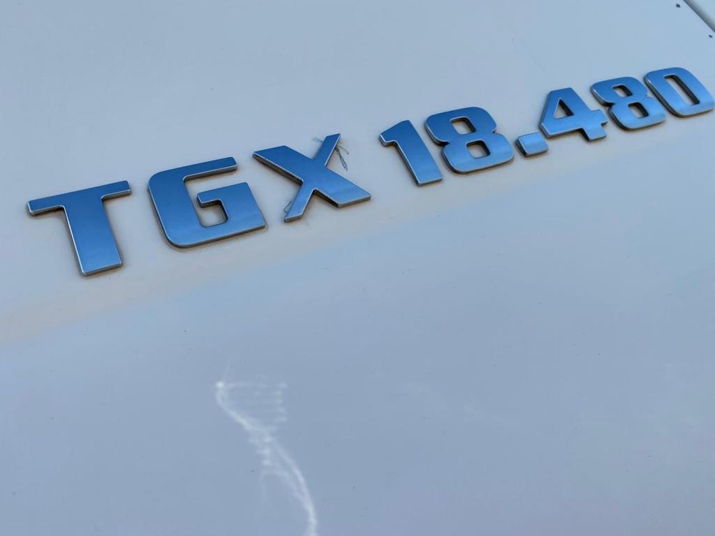 MAN TGX 18.480 XLX / Intarder / Euro 5 / 2 Tanks
