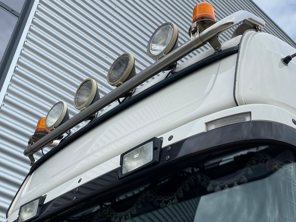 Scania 164 580 / Topline / V8 / Manual / Retarder / Belgium Truck