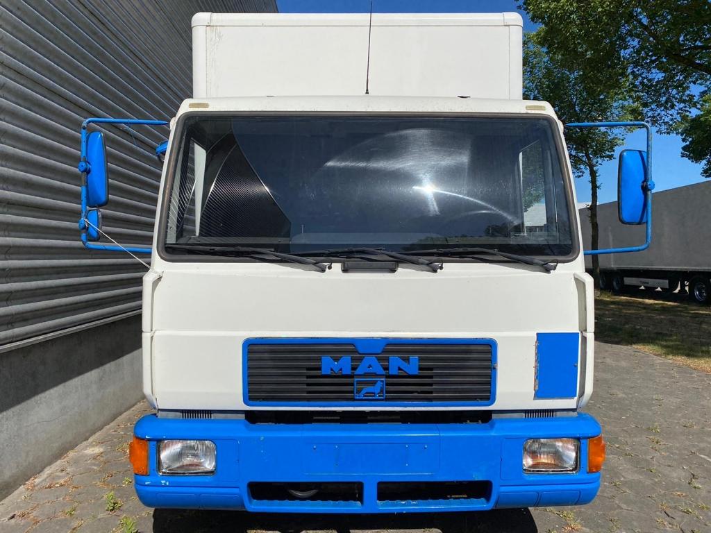 MAN 8-163 / Tail Lift / Full Steel / 205 DKM / Manual / Belgium Truck