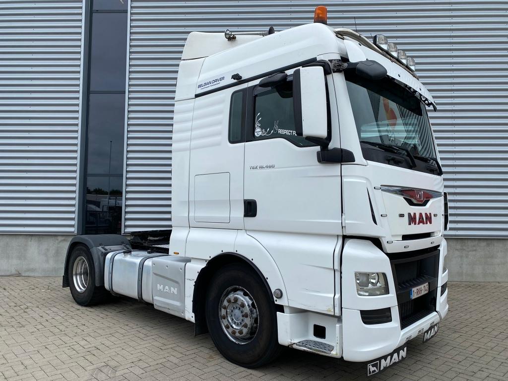MAN TGX 18.480 XLX / Retarder / Hydraulic / Euro 6 / Frigo / TUV: 1-2022 / Belgium Truck