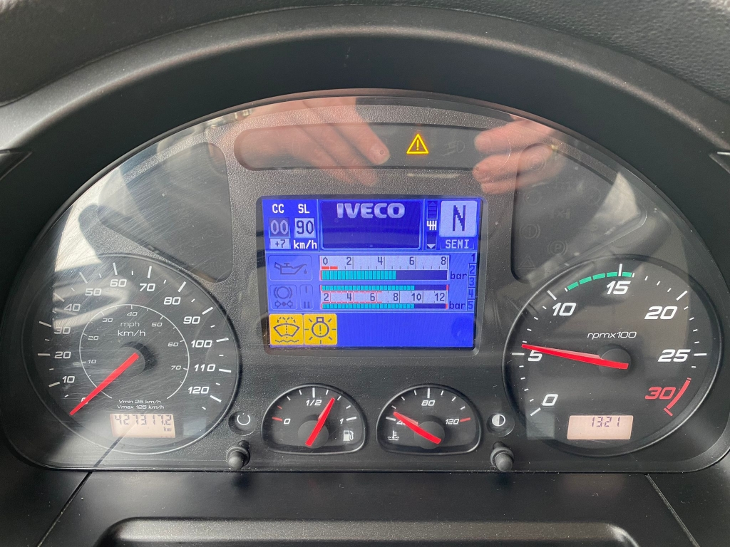 Iveco Stralis AS400 / LNG / High Way / Automatic / Retarder / 427 DKM / TUV: 12-2021 / Belgium Truck