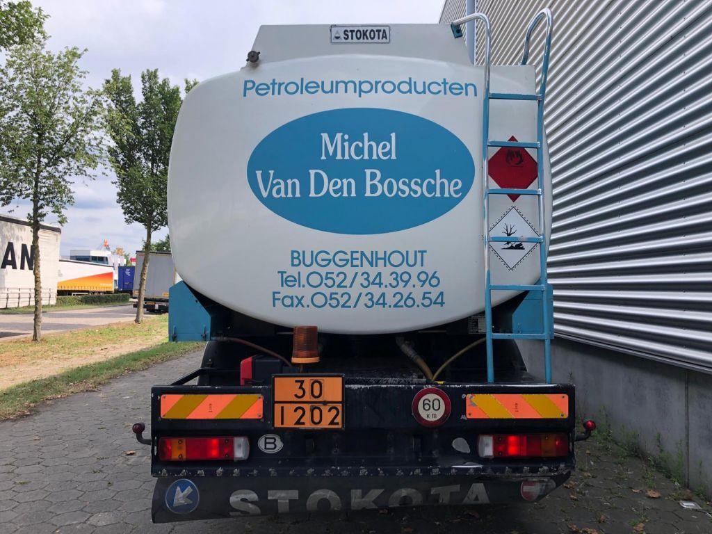 Scania 94G 300 / 6X2 / 19.000 LTR Stokota / Lift & Steering Axel / Airco / Belgium Truck