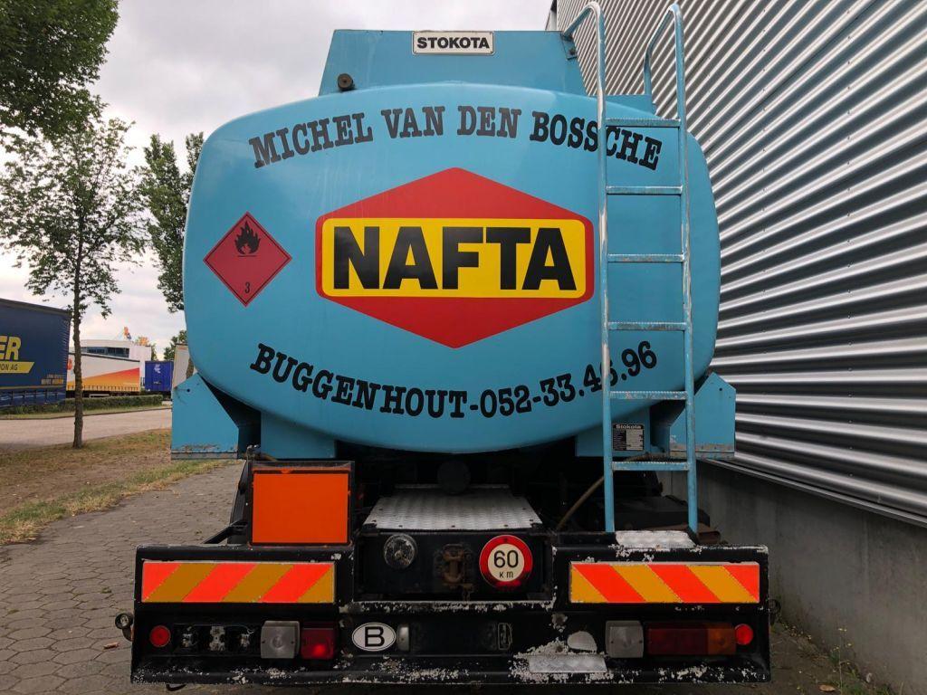 Scania 93H 280 / Full Steel / 6X2 / 20.000 Ltr Stokota / Airco / Belgium Truck