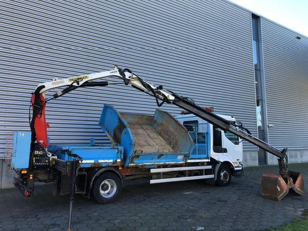 Renault Midlum 220 DCI / Palfinger 7 Tons / Remote / Crane / Tipper / Belgium